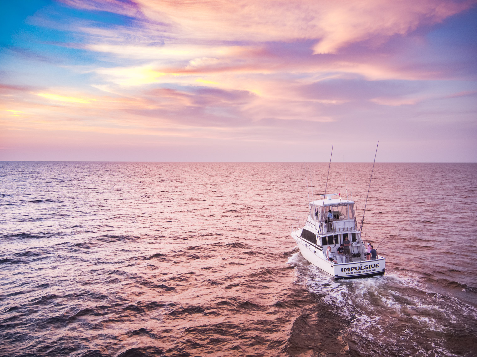Deep Sea Fishing with Impulsive Charters; Southport, North Carolina