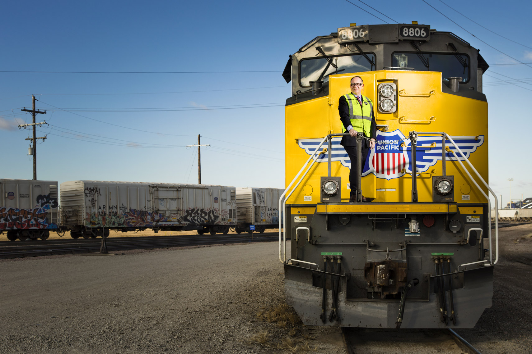 Portrait of Union Pacific President and Chief Executive Officer (CEO) Jack Koraleski