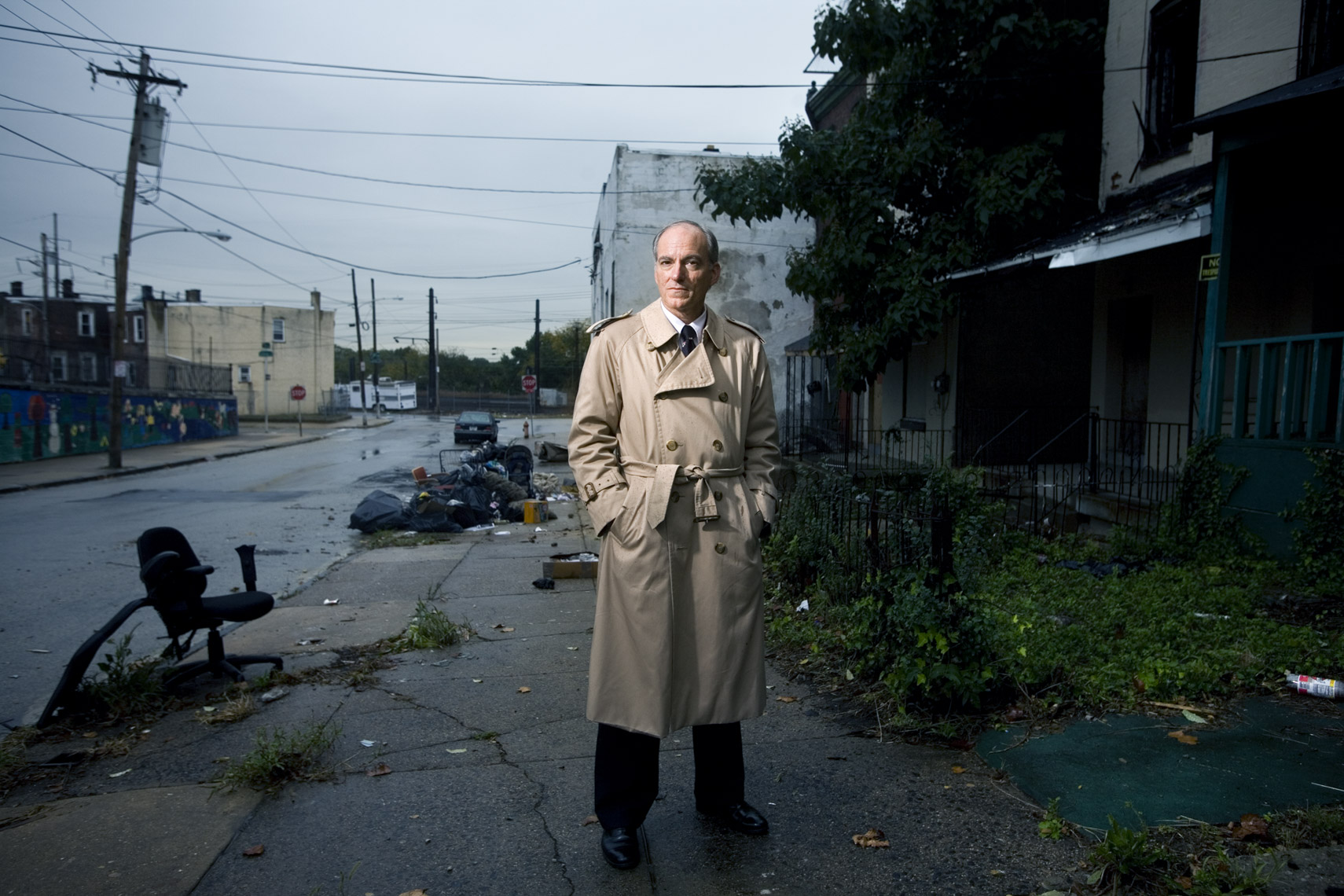 Portrait of criminologist in Philadelphia