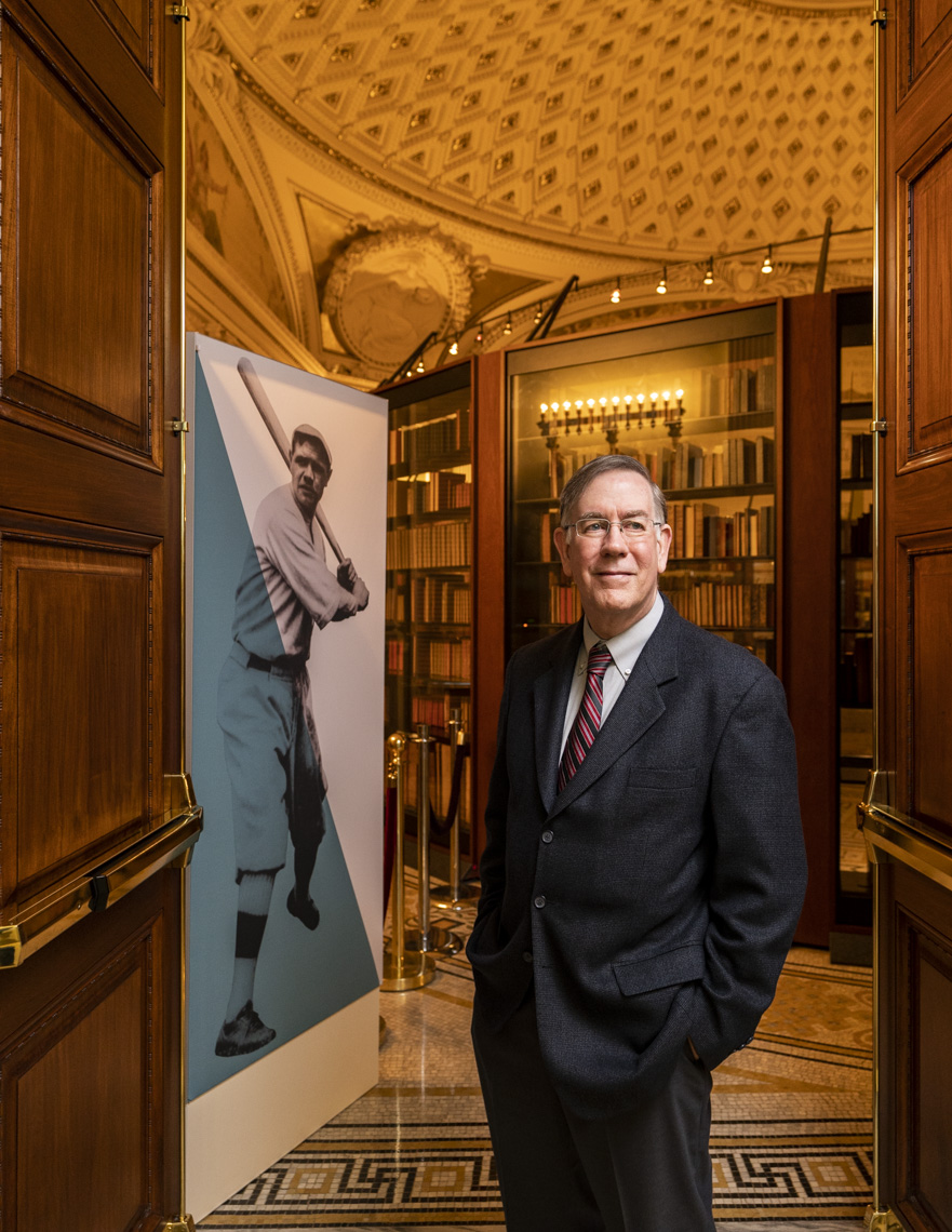 Portrait of Tom Rieger, the Manager of Digitization Services Section at The Library of Congress in Washington DC